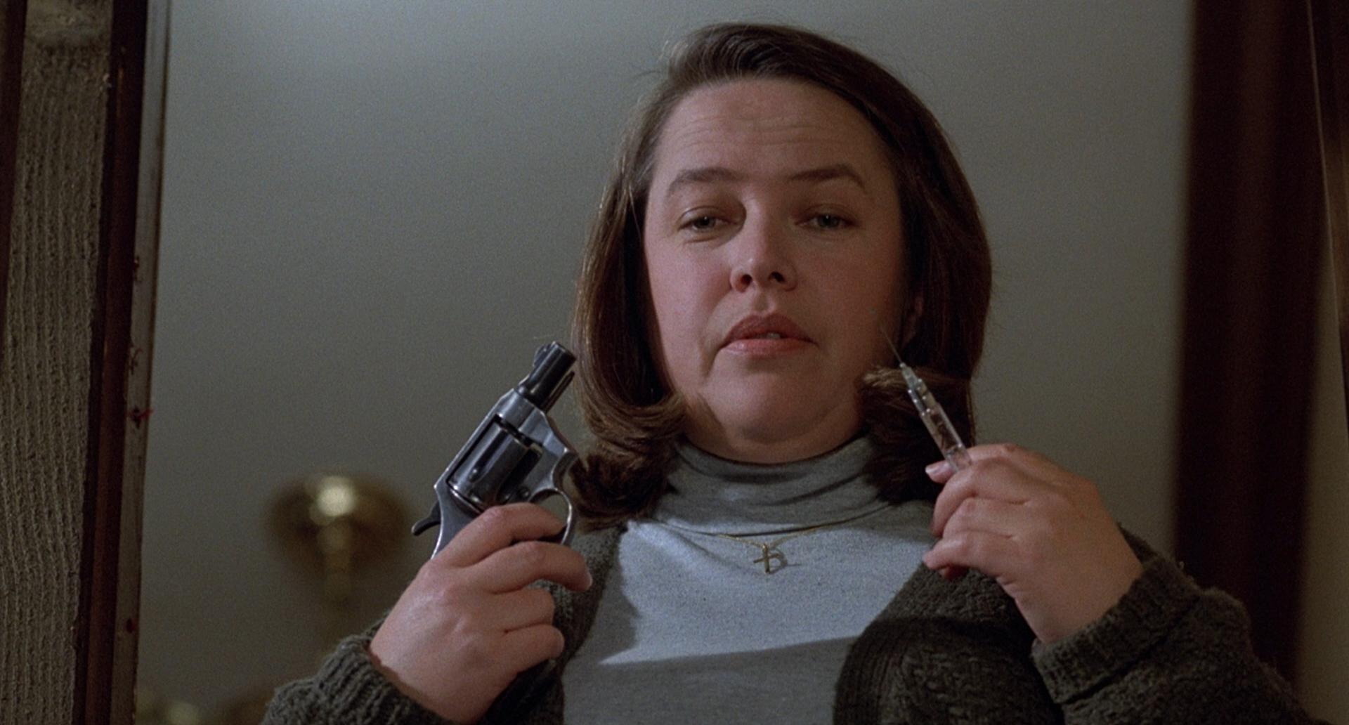 Kathy Bates è Annie Wilkes in Misery