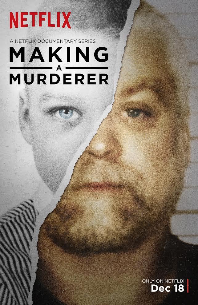 Making a Murderer: la locandina del documentario