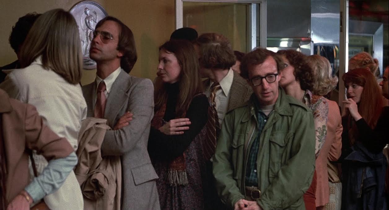 Io e Annie: una celebre scena con Diane Keaton e Woody Allen