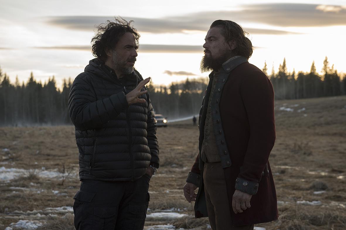Revenant - Redivivo: Alejandro Gonzalez Iñárritu e Leonardo DiCaprio insieme sul set