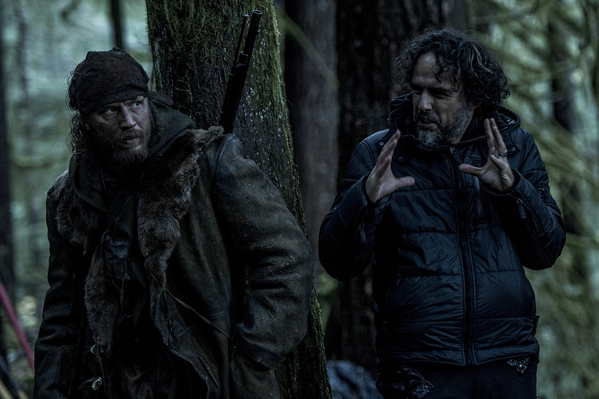 Revenant - Redivivo: Tom Hardy e Alejandro Gonzalez Iñárritu sul set
