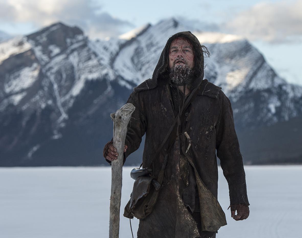 Revenant - Redivivo: l'attore Leonardo DiCaprio interpreta Hugh Glass