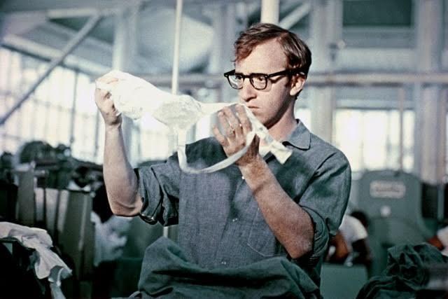 Il giovane Woody Allen in Prendi i soldi e scappa