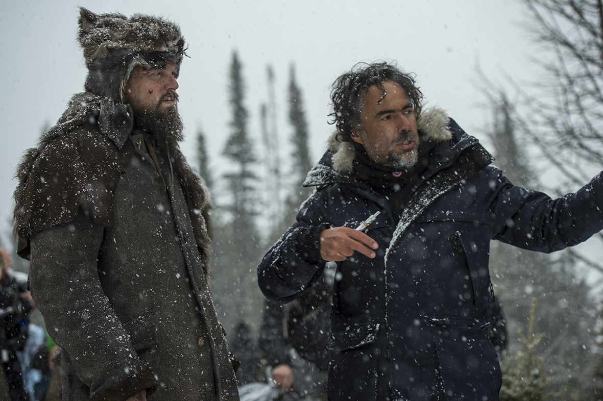 Revenant - Redivivo: Leonardo DiCaprio e Alejandro Gonzalez Iñárritu sul set