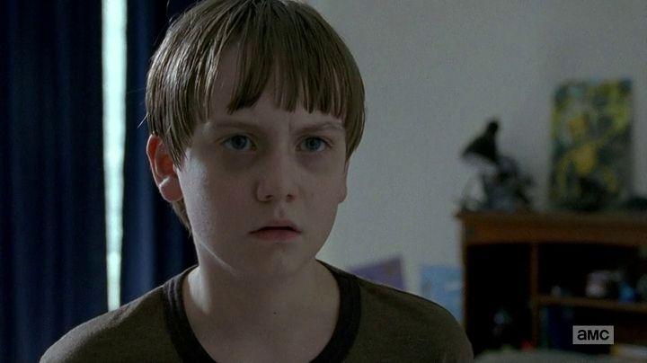 The Walking Dead: l'attore Major Dodson nell'episodio L'inizio e la fine