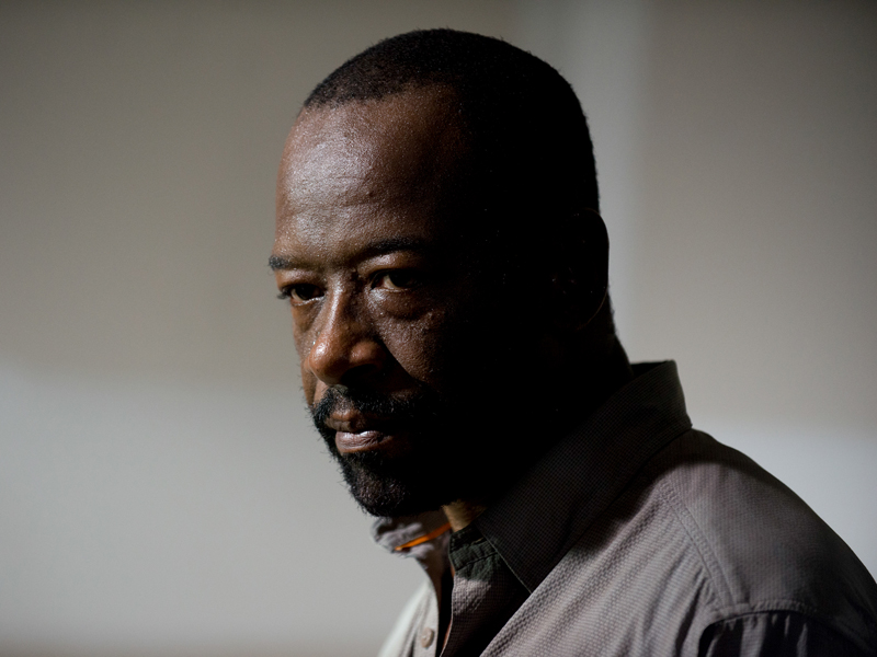 The Walking Dead: l'attore Lennie James interpreta Morgan in L'inizio e la fine