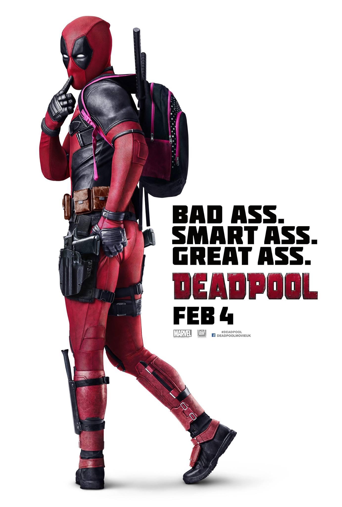 Deadpool: il poster internazionale della serie