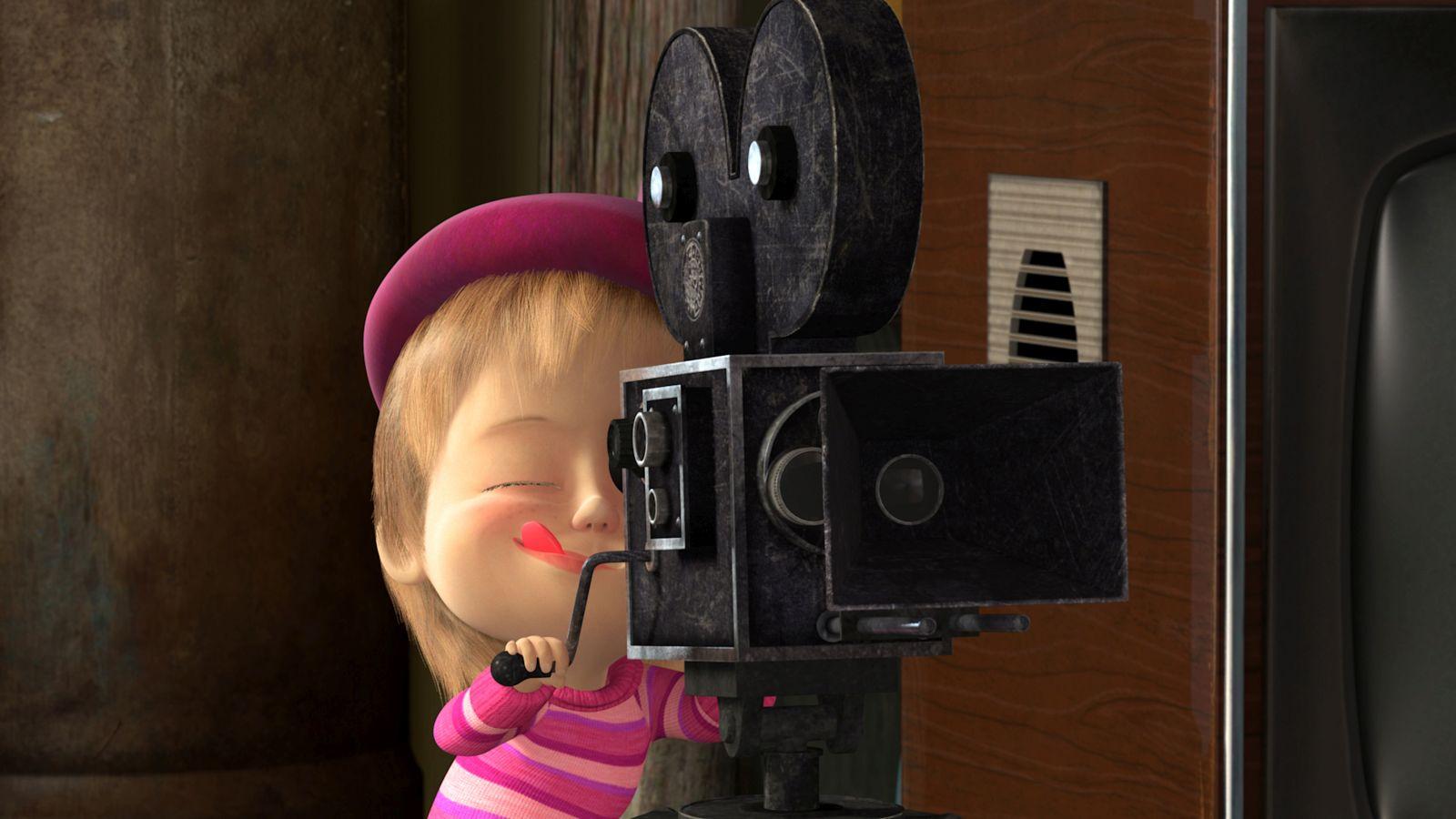 Masha e Orso: amici per sempre, un'immagine tratta dalla serie animata