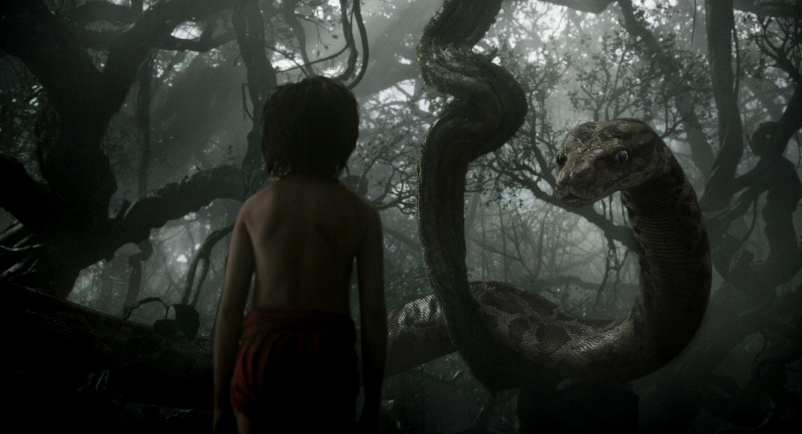 Il libro della giungla: una inquietante immagine del film