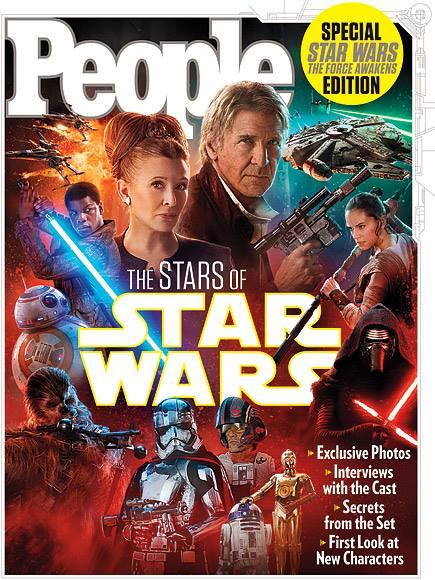 Star Wars: Il Risveglio della Forza - La copertina di People
