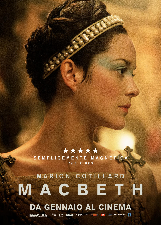 Macbeth: il character poster italiano di Marion Cotillard