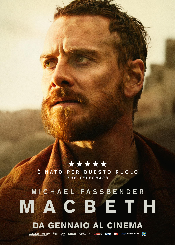 Macbeth: il character poster italiano di Michael Fassbender