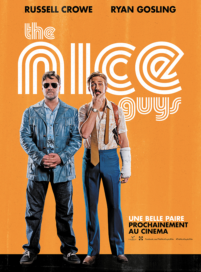 The Nice Guys: la locandina francese