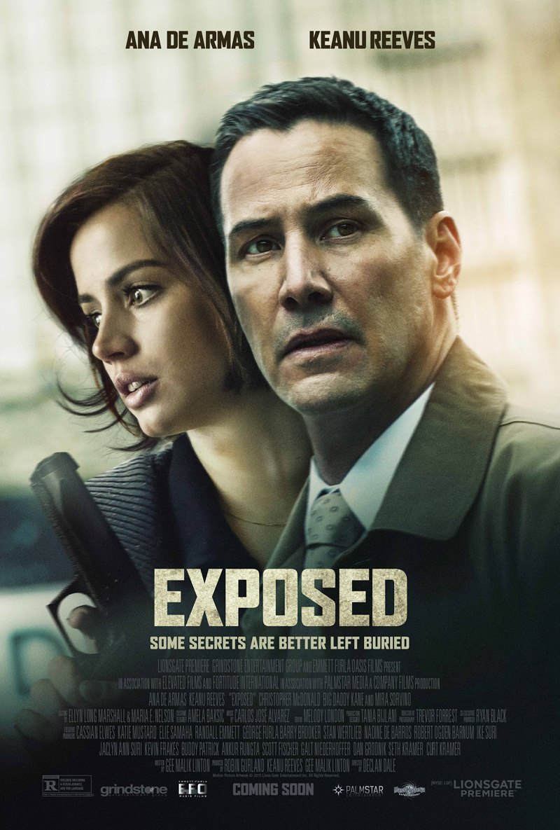 Exposed: il trailer del thriller