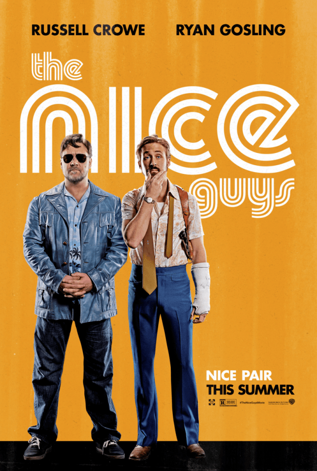 The Nice Guys: il poster del film