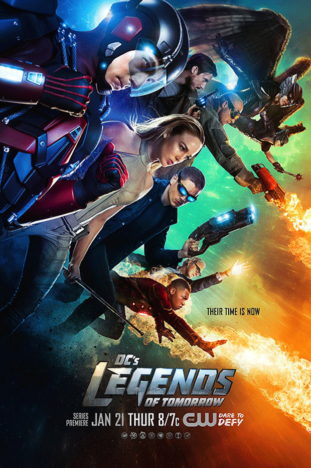 Legends of Tomorrow: il poster della serie