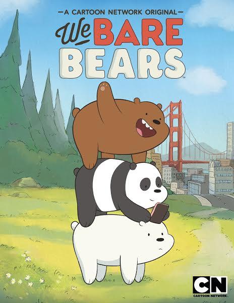 We Bare Bears: il poster della serie