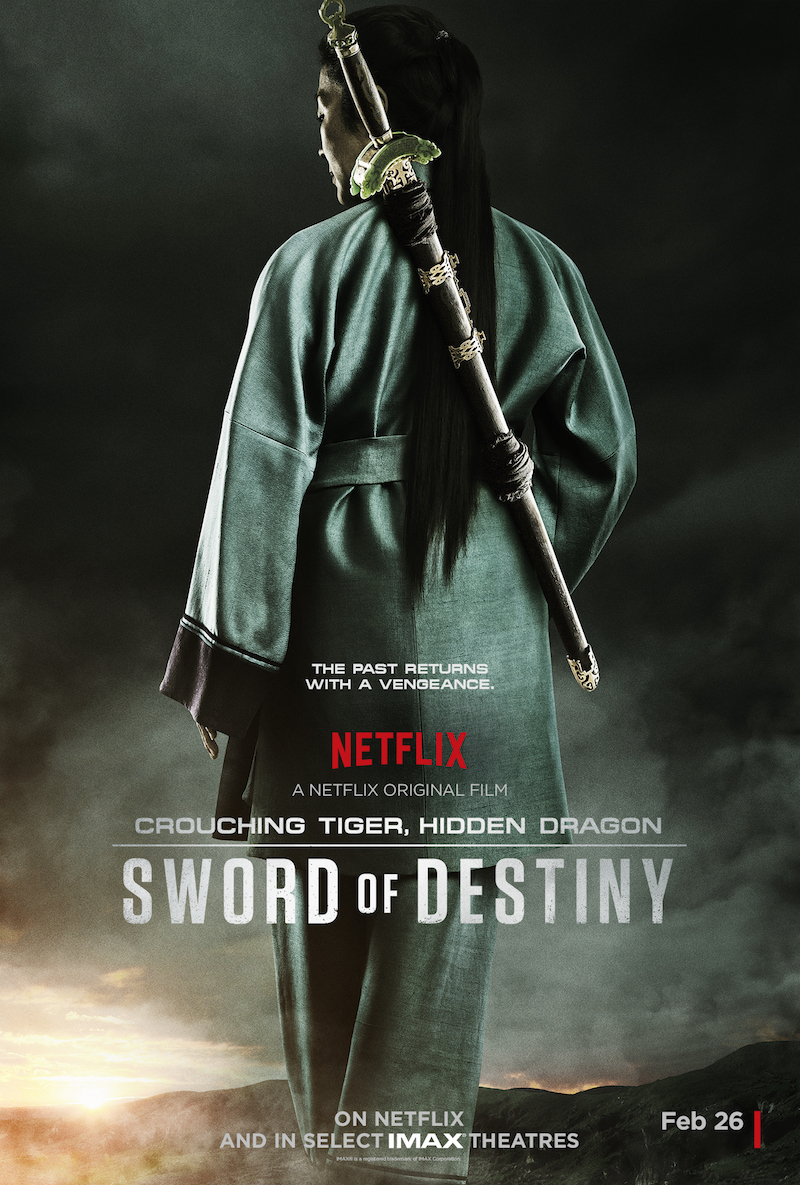 Crouching Tiger, Hidden Dragon: Sword of Destiny - Il poster del film