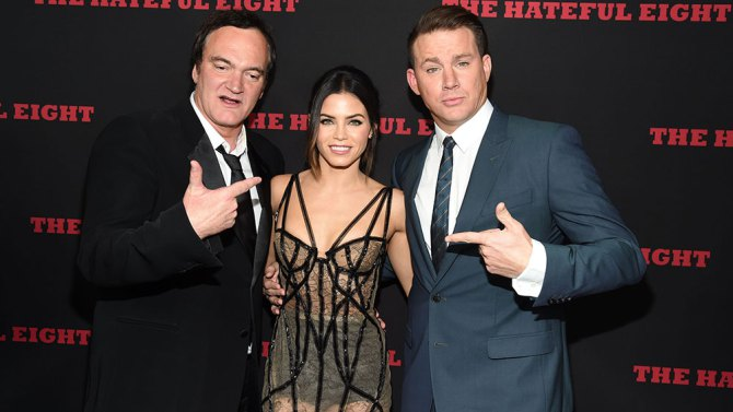 The Hateful Eight: Quentin Tarantino e Channing Tatum indicano Jenna Dewan-Tatum