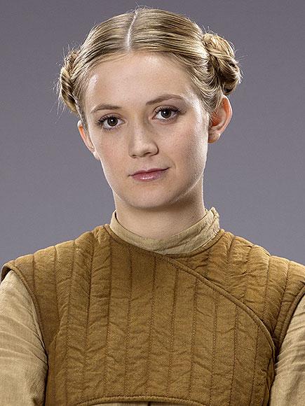 Star Wars: Il Risveglio della Forza - Billie Lourd in una foto promozionale