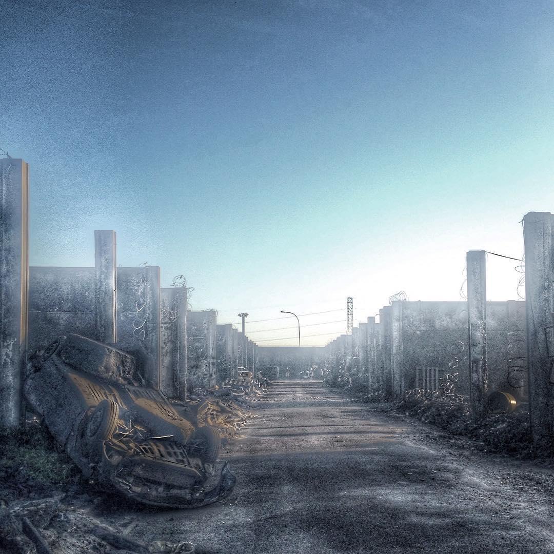 Resident Evil: The Final Chapter - Un'immagine del set