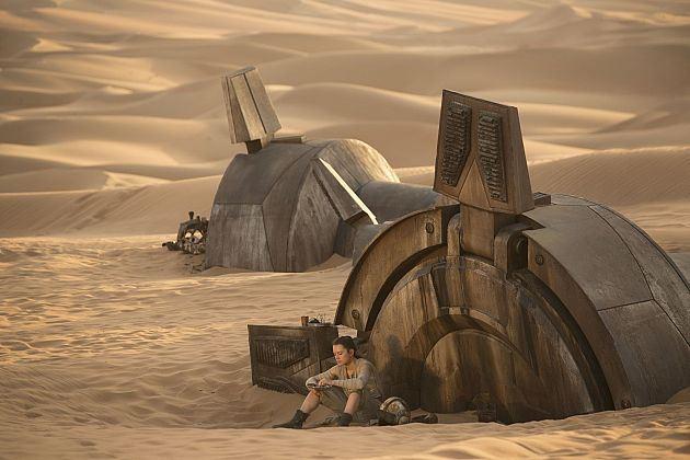 Star Wars: Il Risveglio della Forza - Daisy Ridley interpreta Rey in una foto del film
