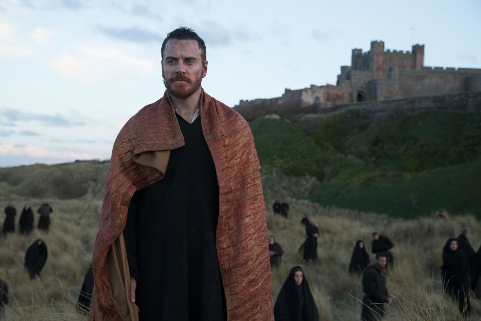 Macbeth: Michael Fassbender in una scena del film