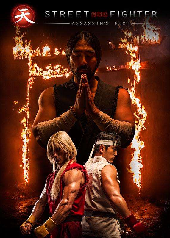Street Fighter: Assasin's Fist, la locandina della serie