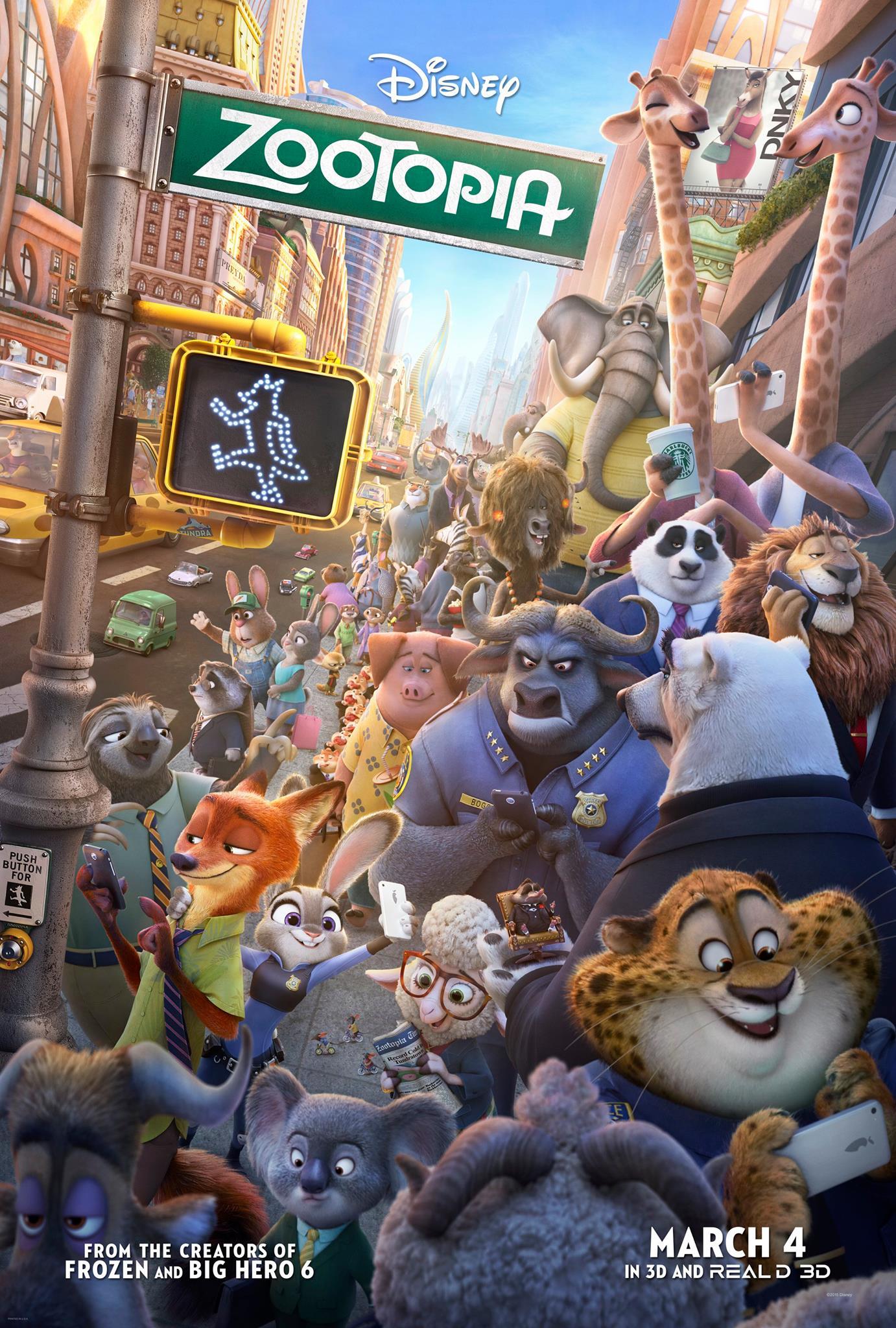 Zootropolis: un nuovo poster ufficiale del film