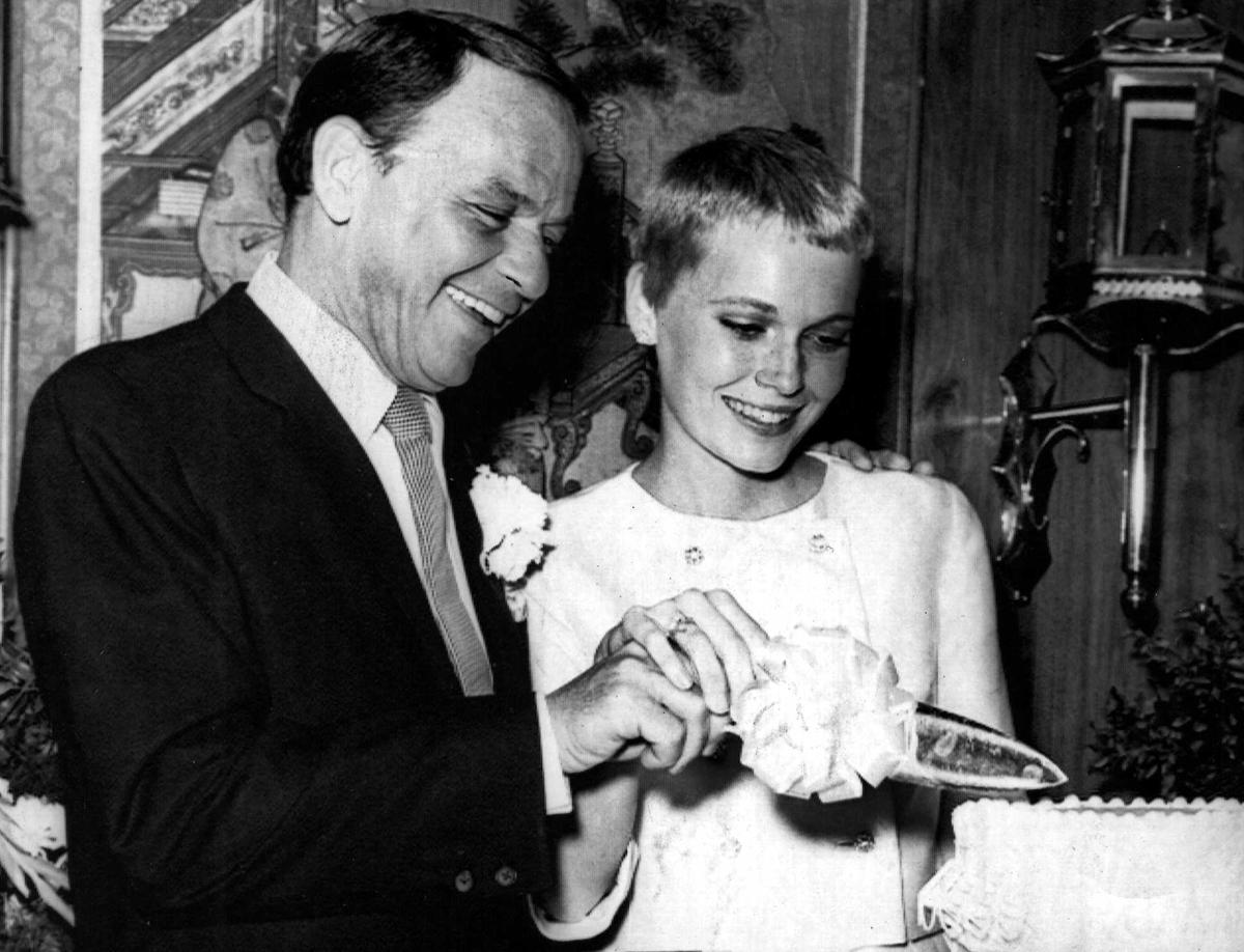 Il matrimonio di Frank Sinatra e Mia Farrow