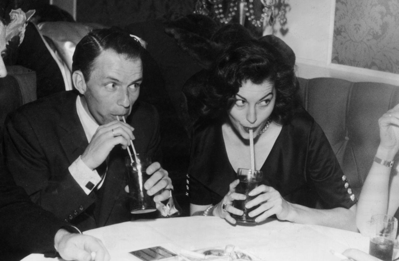 Frank Sinatra con la prima moglie Nancy
