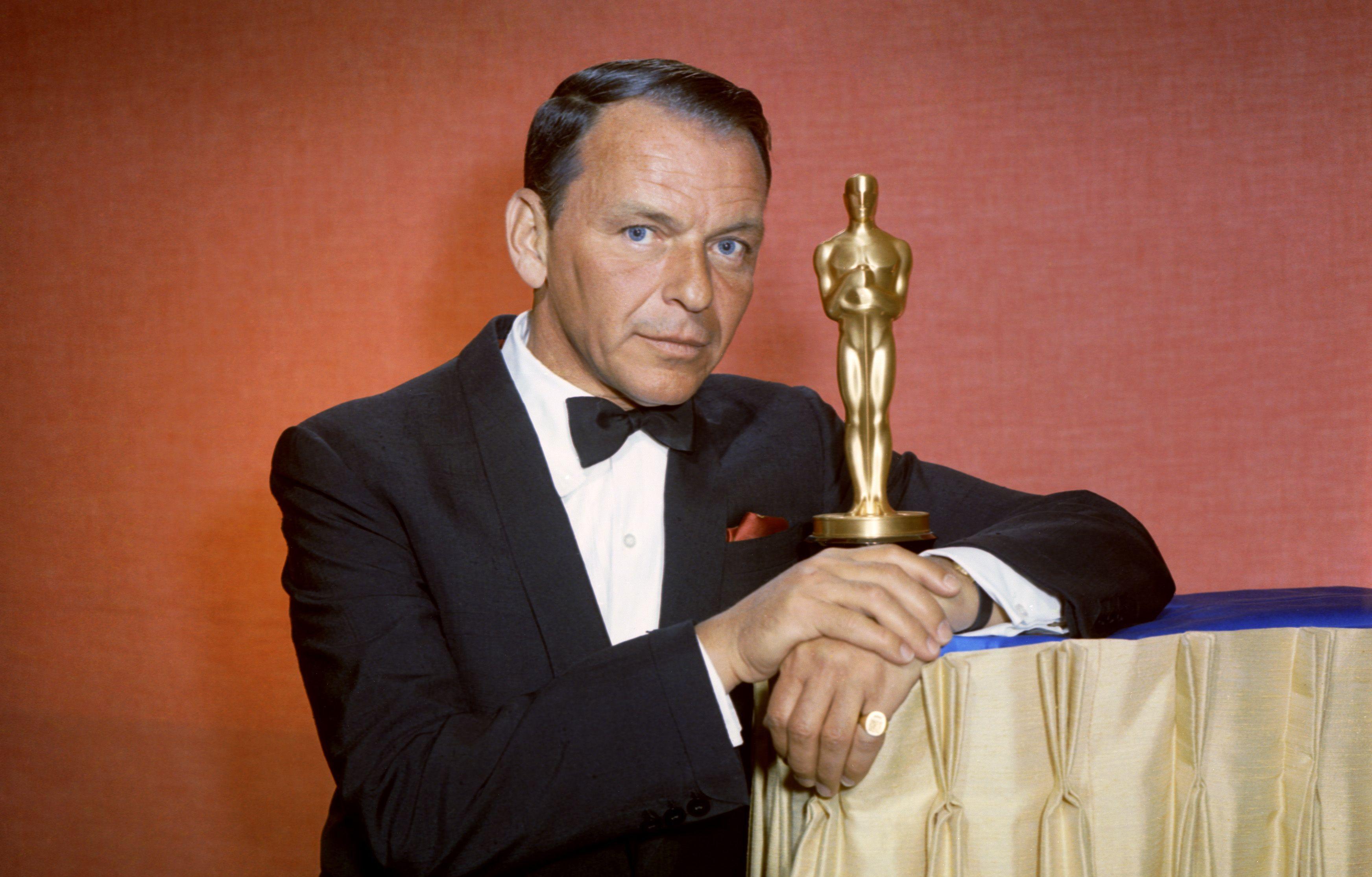 Il premio Oscar Frank Sinatra