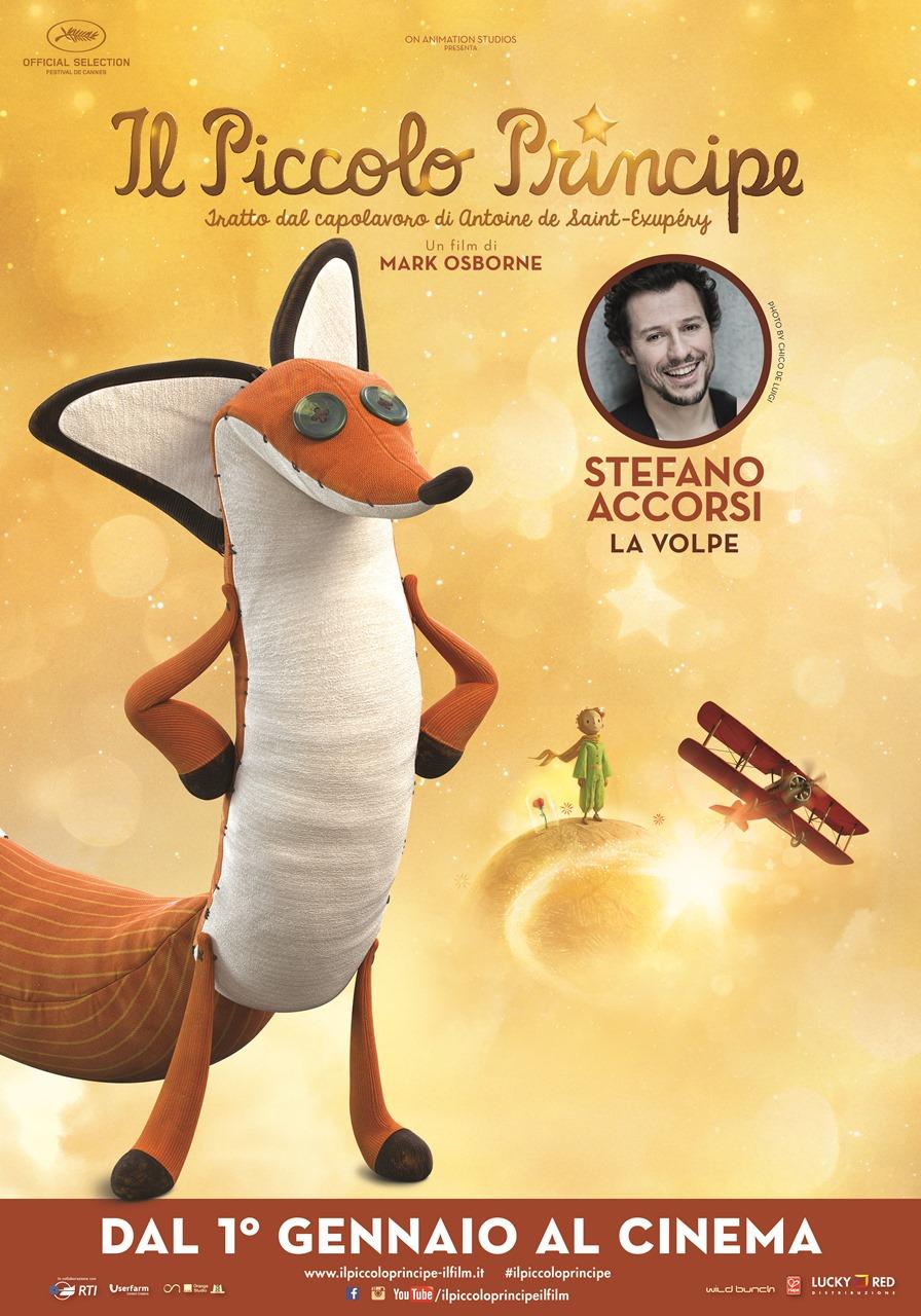 Il Piccolo Principe - Il character poster della Volpe, doppiata da Stefano Accorsi
