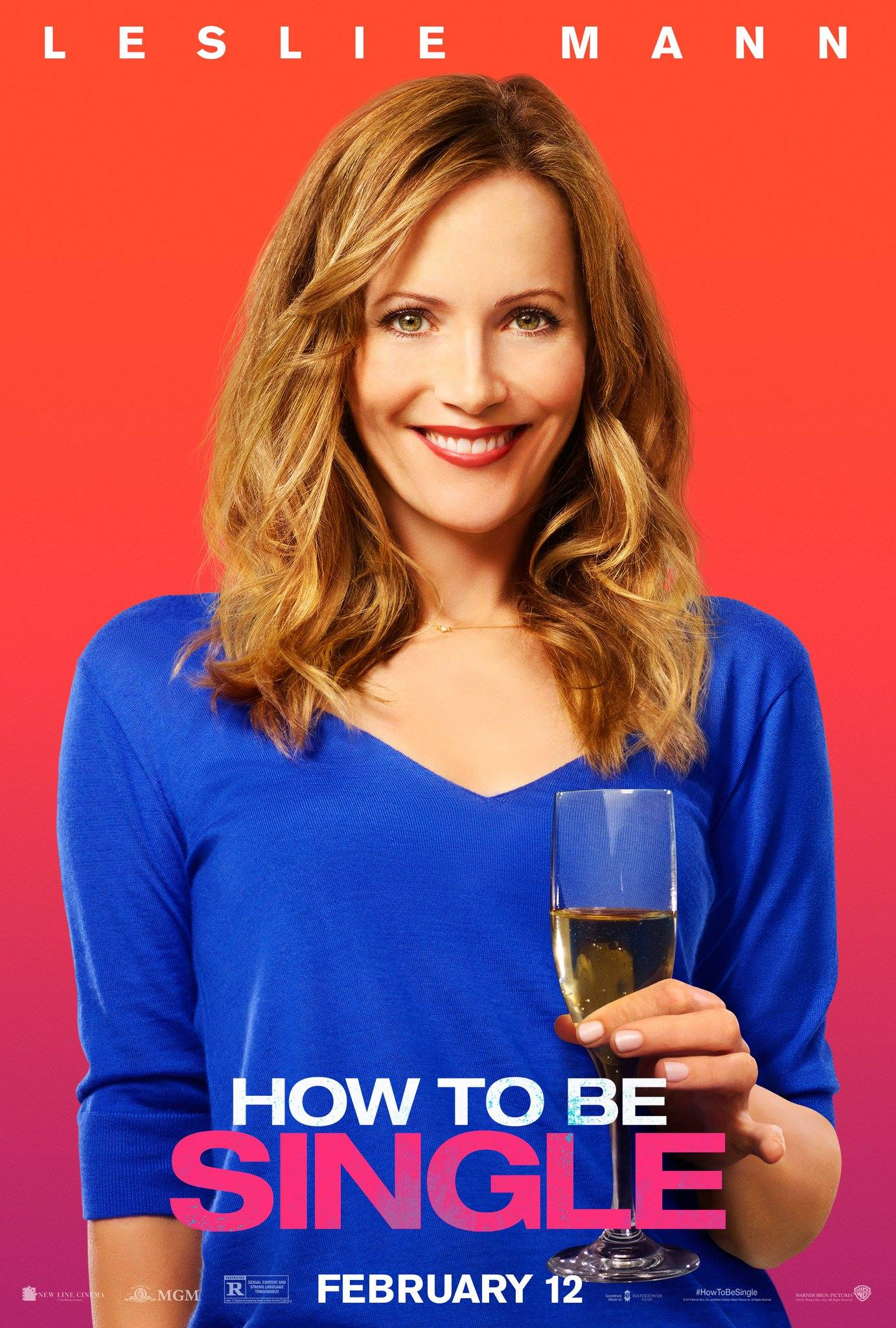 How to be Single: il character poster di Leslie Mann