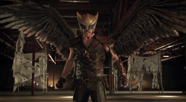 Arrow: Falk Hentschel è Hawkman in Legends of Yesterday