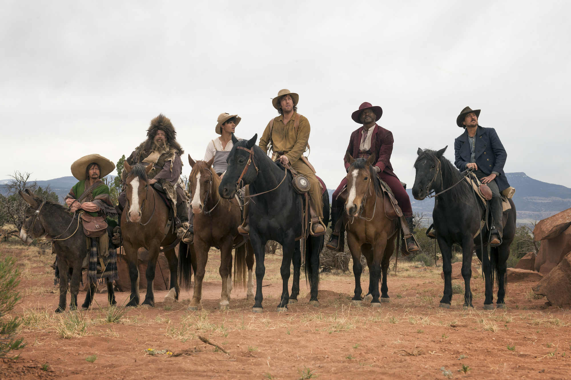 The Ridiculous 6: un'immagine del cast
