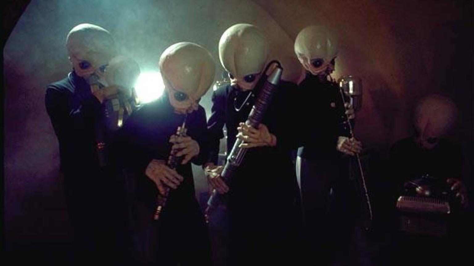 Guerre stellari: la Cantina Band si esibisce