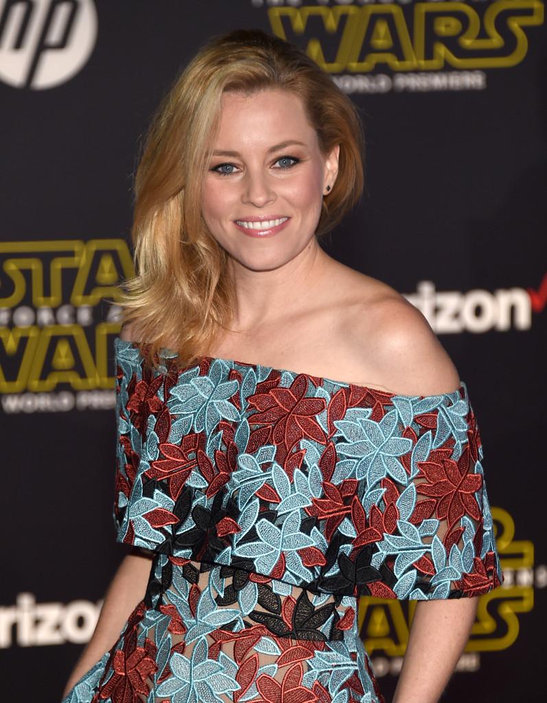 Star Wars: il risveglio della Forza, Elizabeth Banks alla premiere
