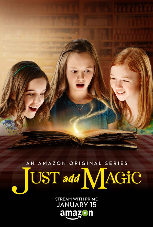 Just Add Magic: la locandina della serie