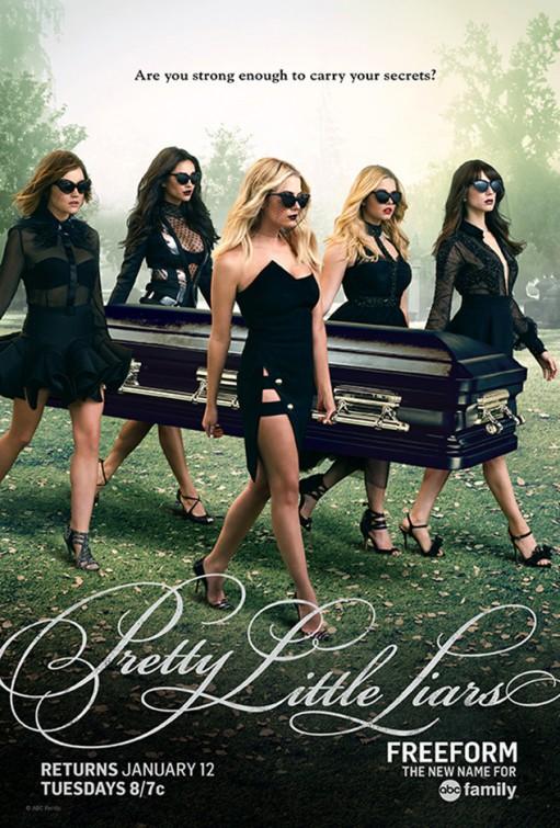 Pretty Little Liars: un poster per la seconda metà della sesta stagione
