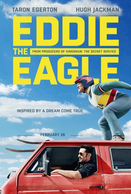 Eddie the Eagle: la locandina ufficiale