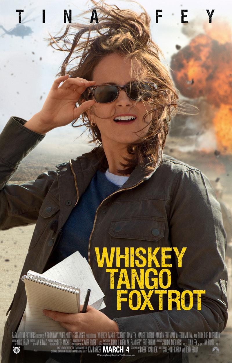 Whiskey Tango Foxtrot: il poster ufficiale del film
