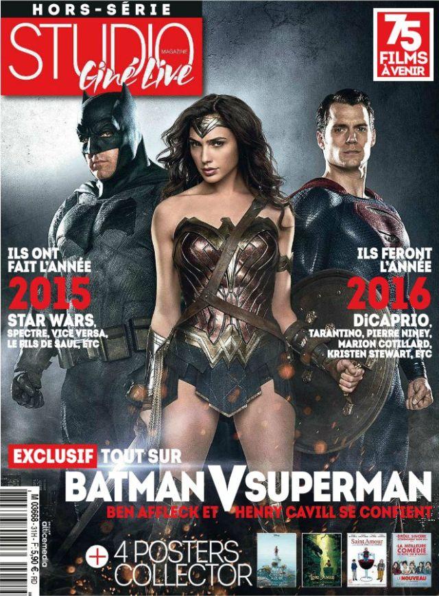Batman v Superman: la copertina di Sutdio Ciné