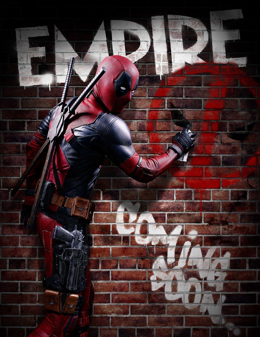 Deadpool: il teaser della copertina di Empire
