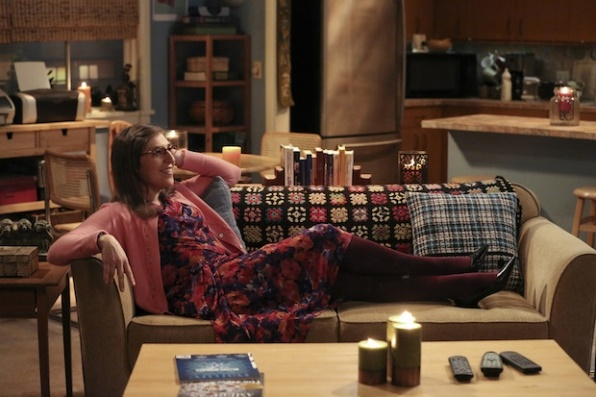 The Big Bang Theory: l'attrice Mayim Bialik interpreta Amy in The Opening Night Excitation