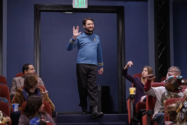 The Big Bang Theory: Will Wheaton in una foto dell'episodio The Opening Night Excitation