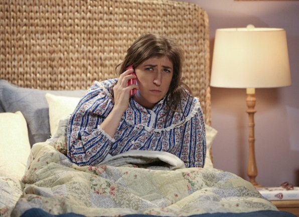 The Big Bang Theory: l'attrice Mayim Bialik in una foto tratta da The Opening Night Excitation