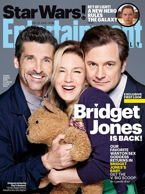 Bridget Jones's Baby: la copertina di Entertainment Weekly
