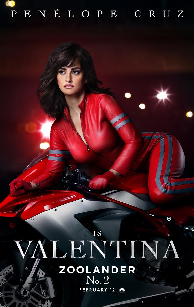 Zoolander 2: il character poster di Valentina