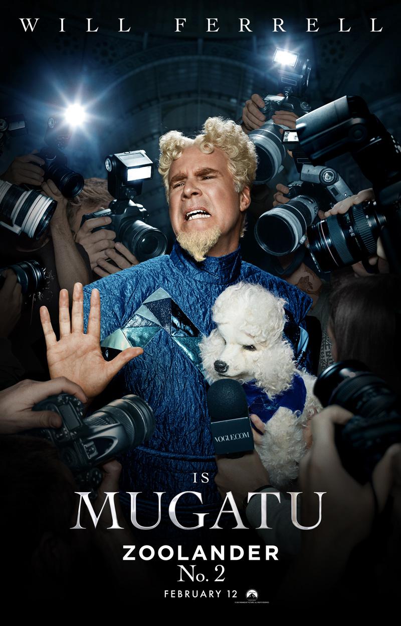 Zoolander 2: il character poster di Mugatu
